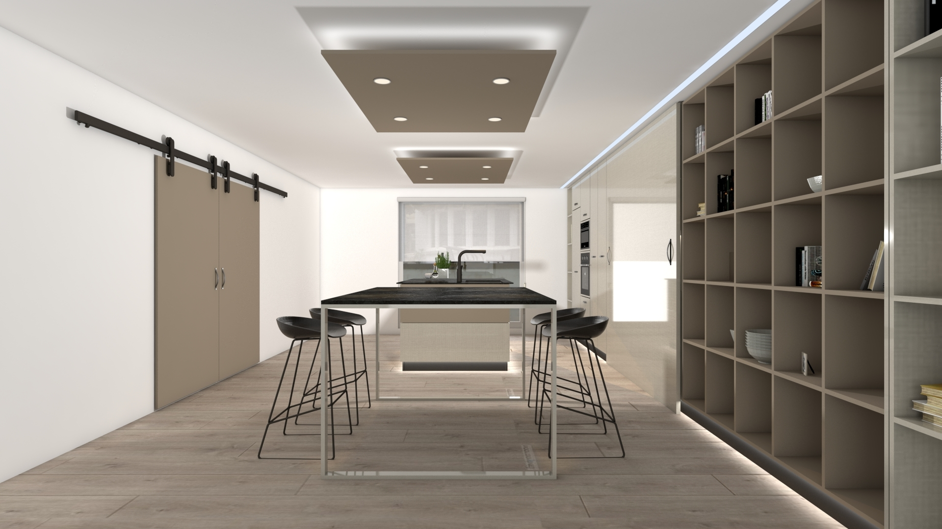 Colección T4 espacio gran iluminación.