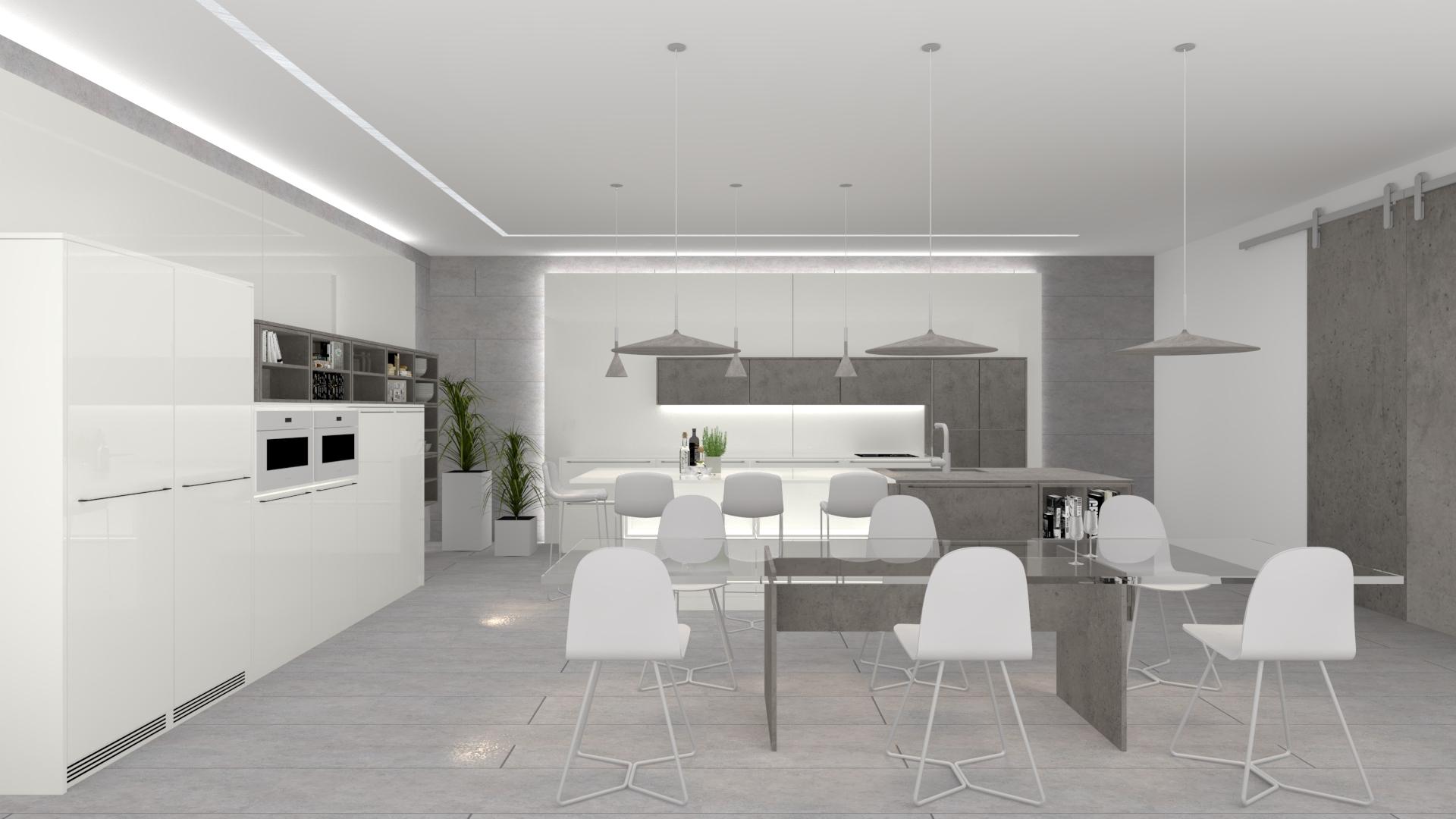 colección t5 gris blanco invite cocinas